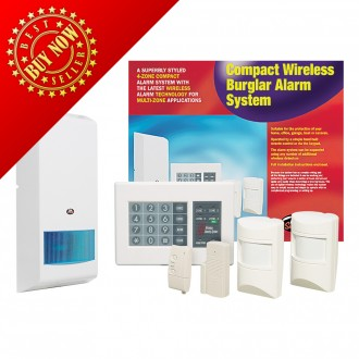 AEI Security - Compact Wireless Alarm System (3400080-434)
