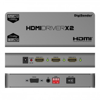 DigiSender 4K HDMI - X2 Multi-screen Driver