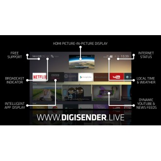 DigiSender XDS Receiver & Internet Broadcaster (DGXDS11)
