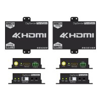 DigiSender 4K Fibre - 4K HDMI Extender with 2-way IR & RS232