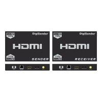 DigiSender 4K Fibre - 4K HDMI Extender with 2-way IR & LAN