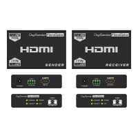 DigiSender 4K Fibre - 4K HDMI Extender with RS232