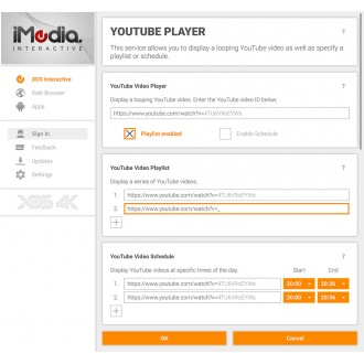 iMedia Signage Generator with 8 x HDMI Outputs