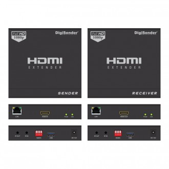 DigiSender HDMI Network Streamer - Split-T Pro Injector