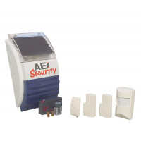 AEI Security SolarGuard - Wireless Alarm System (SG1100ARM2)