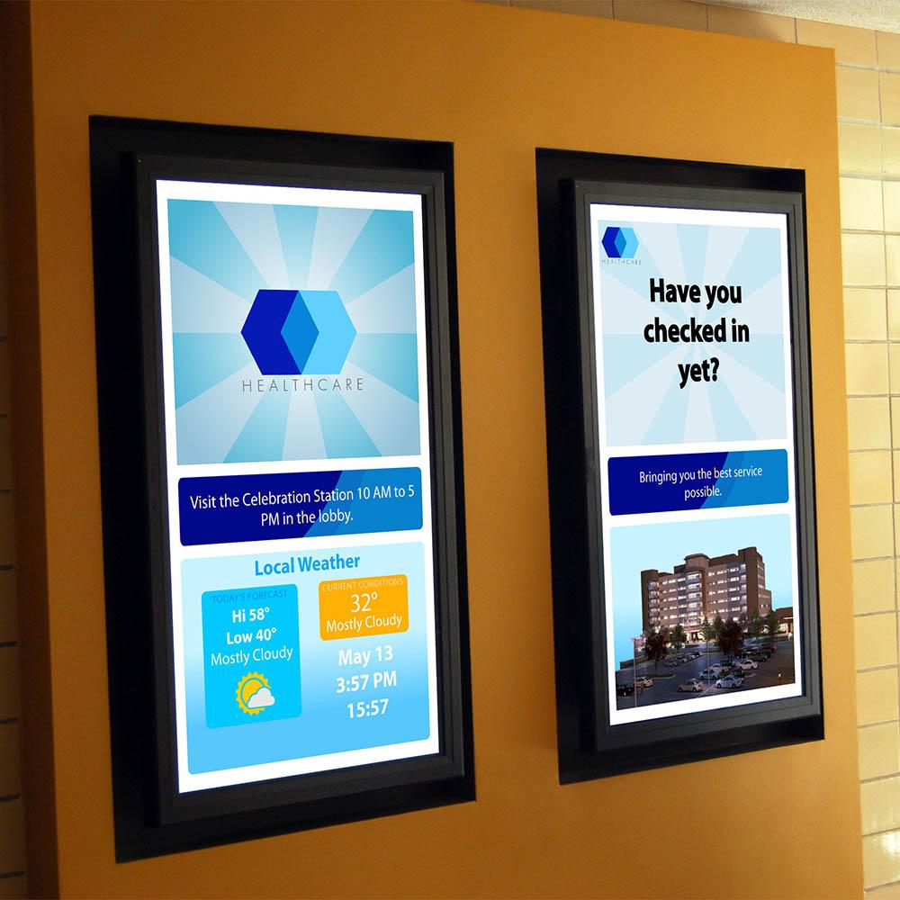 imedia interactive 4k digital signage display generator. Black Bedroom Furniture Sets. Home Design Ideas