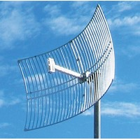 DigiSender Yagi - 5KM Parabolic Dish Antenna (26dB) with 12.5m Low Loss Cable (YG2425CB12)