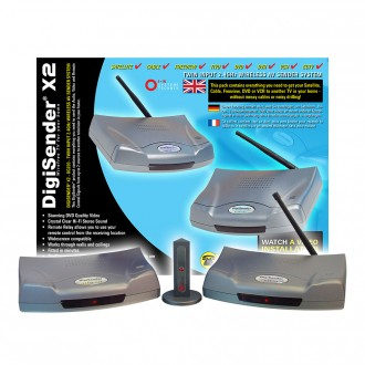 DigiSender X2 - Twin Input 2.4GHz Wireless Video Sender (DG200)