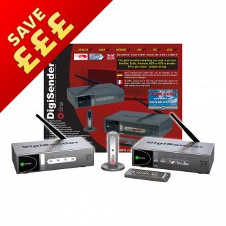DigiSender X7 - Quad Input 2.4GHz Wireless Video Sender (DG440)