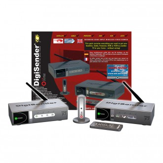 DigiSender X7 - Quad Input 2.4GHz Wireless Video Sender (DG440)