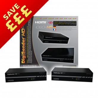 DigiSender HD Pro - Professional Single Input Powerline HDMI Sender (DGHDP1)