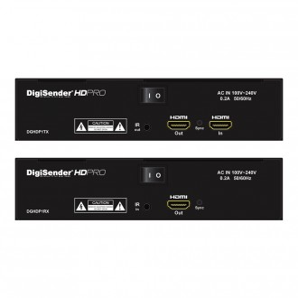DigiSender HD Pro - Professional Single Input Powerline HDMI Sender (DGHDP1)