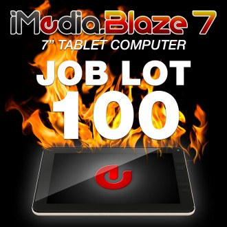 iMedia Blaze 7 - Job Lot of 100 (DGIMTB740-JL100)