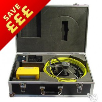 Professional Drain/Pipe Inspection Kit - Monochrome (DI550BW)