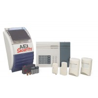 AEI Security SolarGuard - Multizone Wireless Alarm System (SG5850)